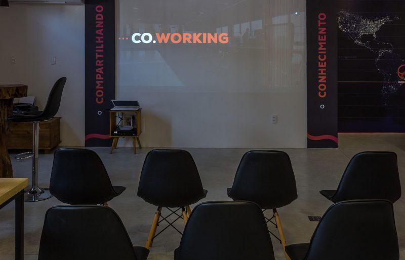 Espaço para palestras e workshops